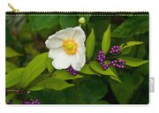 Beautyberry And Anemone 2 Carry-all Pouch