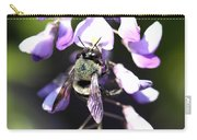 Bee And Blooms - Card Carry-all Pouch