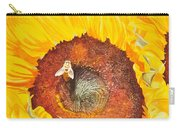 Bee And Sunflowers Carry-all Pouch