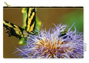 Bee And The Butterfly Carry-all Pouch
