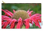Bee Balm Button Carry-all Pouch