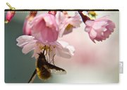Bee Fly Feeding 2 Carry-all Pouch