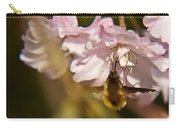 Bee Fly Sucking Nectar 1 Carry-all Pouch