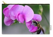 Bee In The Pink - Greeting Card Carry-all Pouch