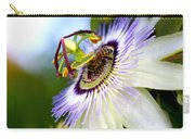 Bee On A Nigella Carry-all Pouch