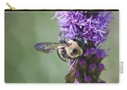 Bee On Gayfeather Squared 2 Carry-all Pouch