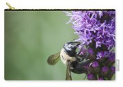 Bee On Gayfeather Carry-all Pouch
