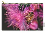 Bee On Lollypop Blossom Carry-all Pouch