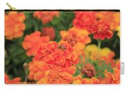 Bee On Orange Flower Carry-all Pouch