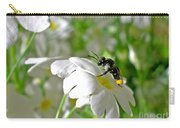 Bee On Primrose Carry-all Pouch