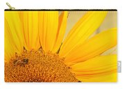 Bee On Sunflower Carry-all Pouch