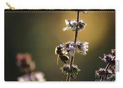 Bee On The Basil Carry-all Pouch