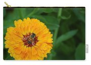 Bee On Yellow Flower Carry-all Pouch