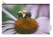 Bee Resting Squared Carry-all Pouch