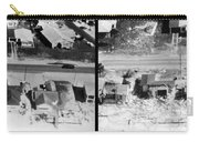 Before And After Hurricane Eloise 1975 Carry-all Pouch by Science Source