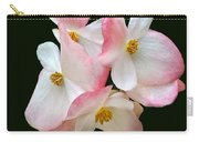 Begonia Flower Gems Carry-all Pouch