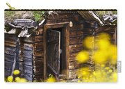 Behind Yellow Flowers Carry-all Pouch by Heiko Koehrer-Wagner