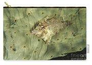 Beige Juvenile Filefish Hiding Carry-all Pouch