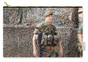 Belgian Soldier On Guard Carry-all Pouch