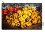 Bell Peppers Carry-all Pouch by Robert Bales