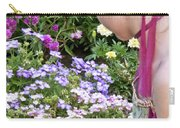 Belle In The Garden Carry-all Pouch by Angelina Vick