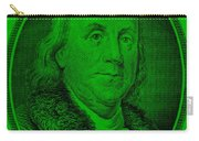 Ben Franklin Ingreen Carry-all Pouch
