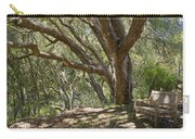 Bench And Tree In Cambria II Carry-all Pouch