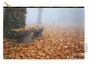 Bench In The Fog Carry-all Pouch