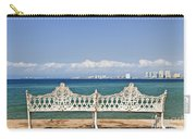 Bench On Malecon In Puerto Vallarta Carry-all Pouch