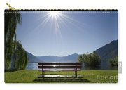 Bench On The Lakefront Carry-all Pouch
