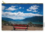 Bench With Panorama View Carry-all Pouch