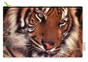 Bengal Tiger In Thought Carry-all Pouch