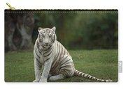 Bengal Tiger Panthera Tigris Tigris Carry-all Pouch by Konrad Wothe