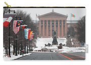 Benjamin Franklin Parkway Panorama Carry-all Pouch