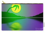 Bent Palm Sunrise Carry-all Pouch