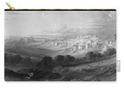 Bethlehem Engraving By William Miller Carry-all Pouch