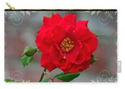 Betty's Red Rose Carry-all Pouch