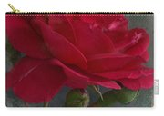 Betty's Red Rose II With Decorations Carry-all Pouch