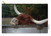 Beware Smiling Bull Carry-all Pouch