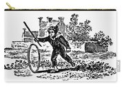 Bewick: Boy With Hoop Carry-all Pouch