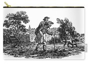 Bewick: Man Carrying Man Carry-all Pouch by Granger
