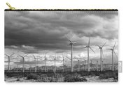 Beyond The Clouds Bw Carry-all Pouch