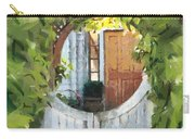 Beyond The Gate - A Scene From Mackinac Island Michigan Carry-all Pouch