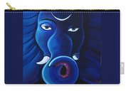 Bhalchandra-moon Crested Lord Ganesha Carry-all Pouch