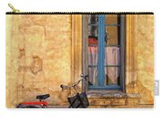 Bicycle And Window In France Carry-all Pouch