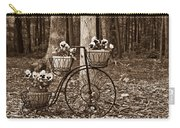 Bicycle Built For Three Carry-all Pouch