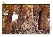 Bicycle Built For Two Carry-all Pouch by Debra and Dave Vanderlaan
