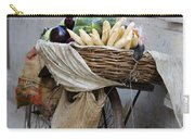 Bicycle Loaded With Food, Delhi, India Carry-all Pouch