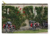 Bicycles Parked By The Wall Carry-all Pouch