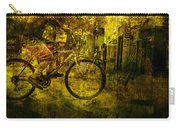 Bicyclist On The Move No. Ol4 Carry-all Pouch